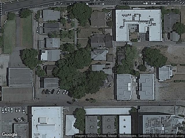 349 N Lang Court St Petersburg, FL 33701 Satellite View