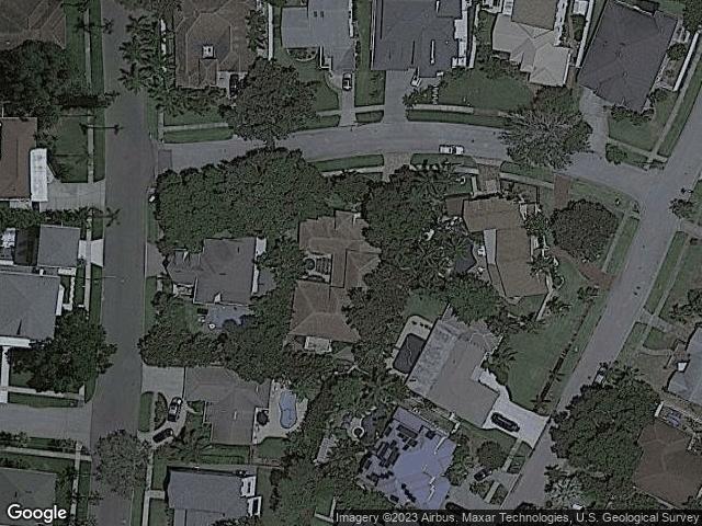447 NE Lido Way St Petersburg, FL 33704 Satellite View