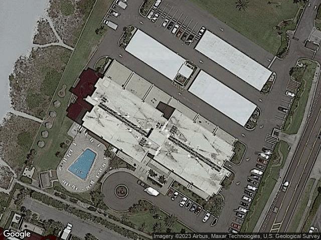 1480 Gulf Blvd #911 Clearwater, FL 33767 Satellite View