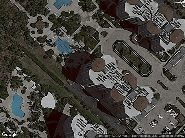 1180 Gulf Blvd #1504 Clearwater, FL 33767 Satellite View