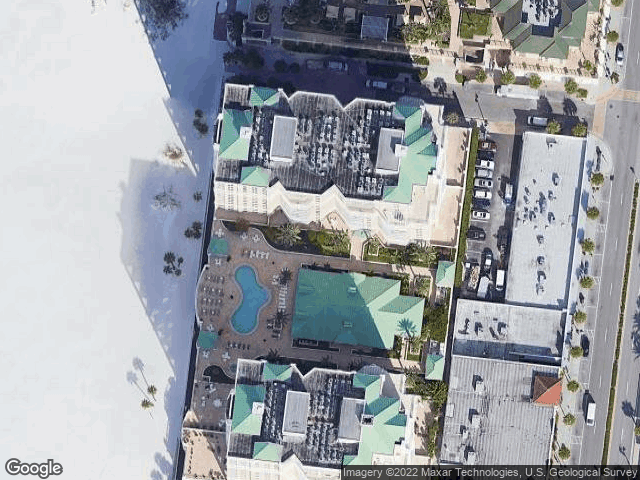 11 San Marco Street #706 Clearwater Beach, FL 33767 Satellite View
