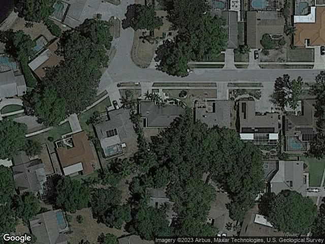 2950 Tangerine Terrace Palm Harbor, FL 34684 Satellite View