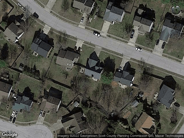 105 Cottage Grove Midway, KY 40347 Satellite View