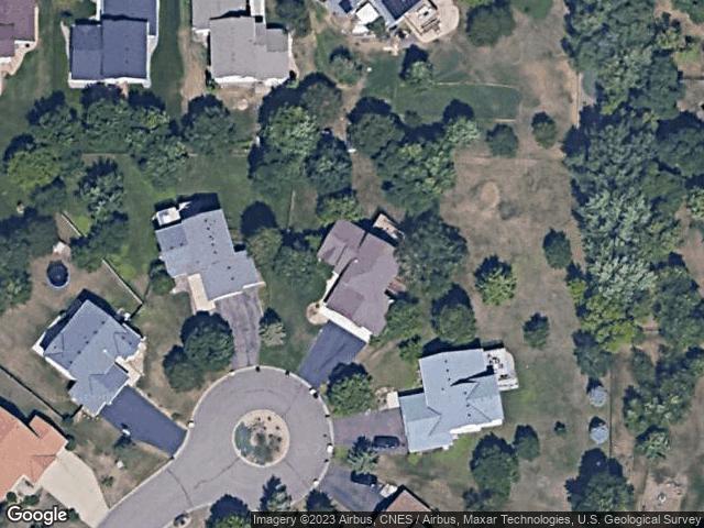 10043 Evergreen Court N Brooklyn Park, MN 55443 Satellite View