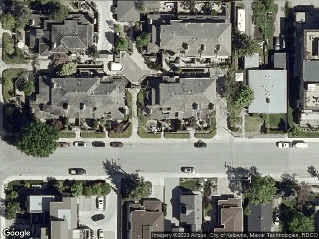 416 West Avenue Kelowna, BC V1Y4Z2 Satellite View
