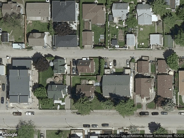 669 Patterson Avenue Kelowna, BC V1Y5C6 Satellite View