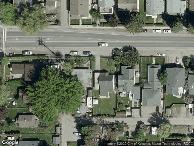 735 Cadder Avenue #1 Kelowna, BC V1Y5N7 Satellite View
