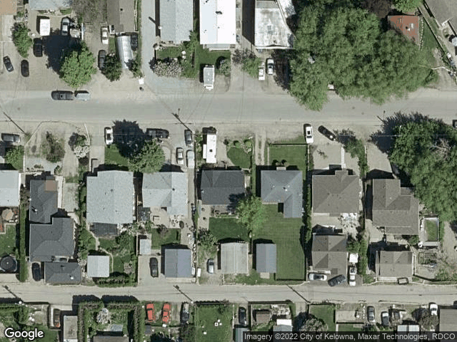 805 Burne Avenue #1 Kelowna, BC V1Y5P6 Satellite View