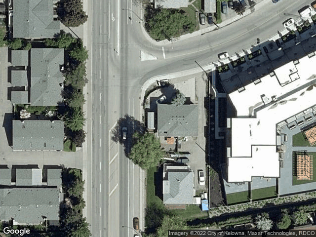 1550 Dickson Avenue #206 Kelowna, BC V1Y9Y8 Satellite View
