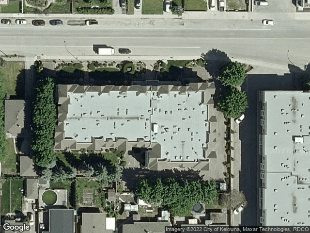 1055 Lawrence Avenue #106 Kelowna, BC V1Y6M3 Satellite View
