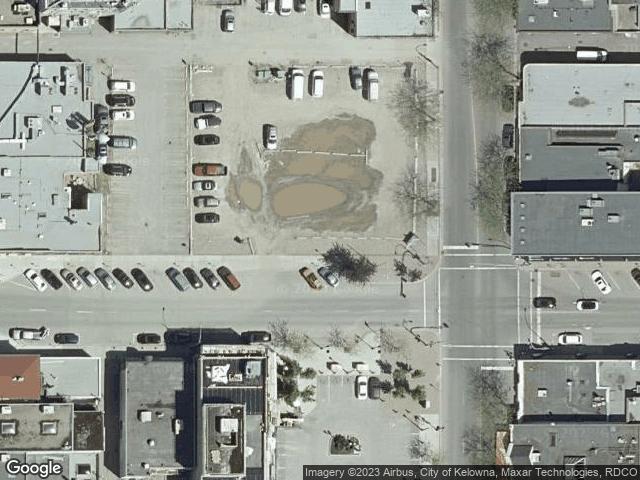 1588 Ellis Street #1001 Kelowna, BC V1Y2A7 Satellite View