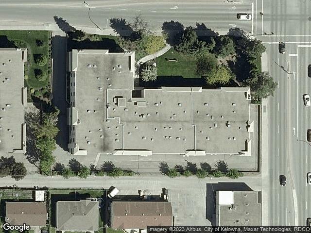 1075 Bernard Avenue #214 Kelowna, BC V1Y6P7 Satellite View