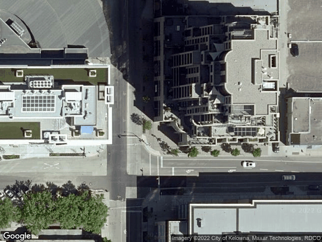 1395 Ellis Street #1302 Kelowna, BC V1V1Z9 Satellite View