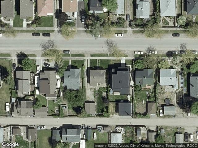 825 Fuller Avenue Kelowna, BC V1Y6X2 Satellite View
