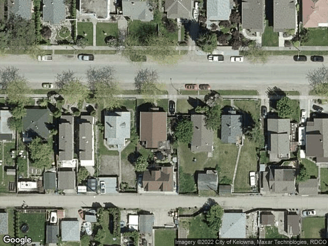 759 Fuller Avenue Kelowna, BC V1Y6X2 Satellite View