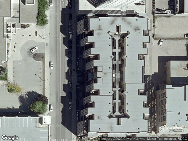 1331 Ellis Street #109 Kelowna, BC V1T1Z9 Satellite View