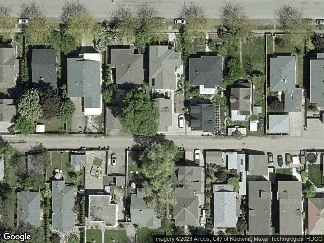 837 Cadder Avenue Kelowna, BC V1Y6X8 Satellite View