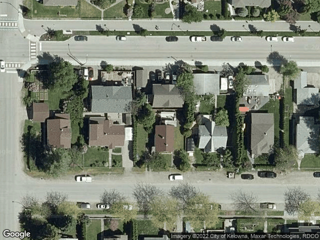 1028 Wilson Avenue Kelowna, BC V1Y6Y3 Satellite View