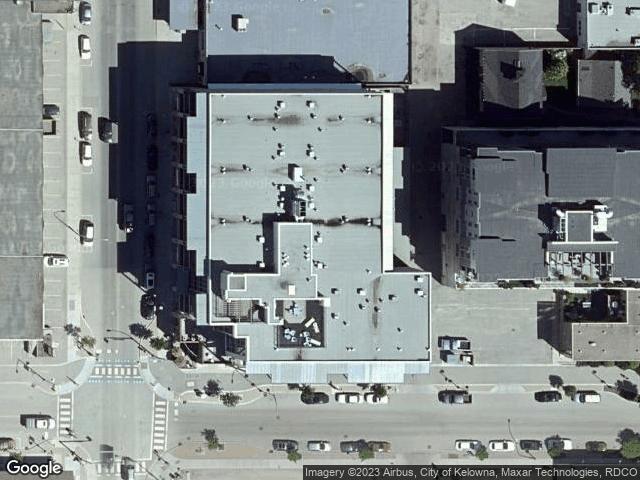1289 Ellis Street #305 Kelowna, BC V1Y9X5 Satellite View