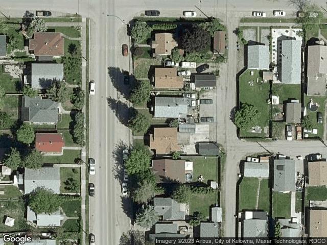 1269 Ethel Street Kelowna, BC V1Y2W8 Satellite View