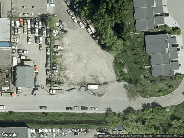 1170 Brant Avenue #16 Kelowna, BC V1Y1N1 Satellite View
