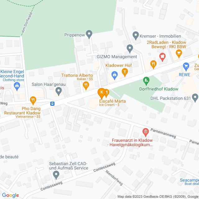 Karte Hörprofil erstellen in Spandau