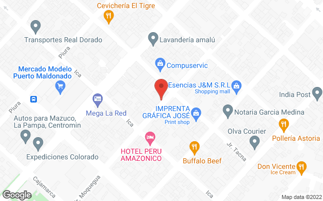 Pirwa Puerto Maldonado's location map