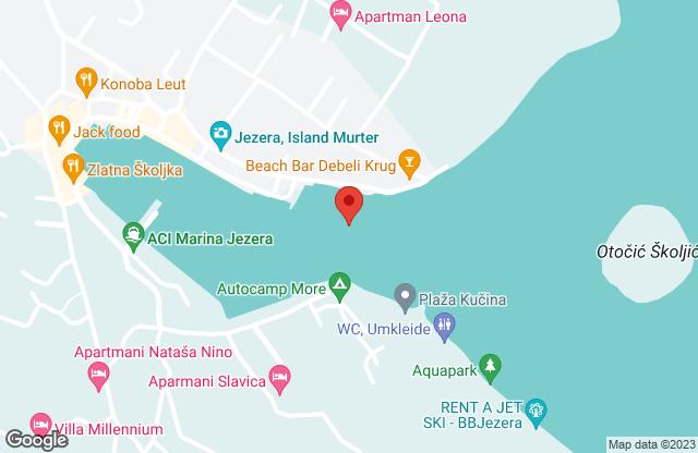 Jezera - Kroatien
