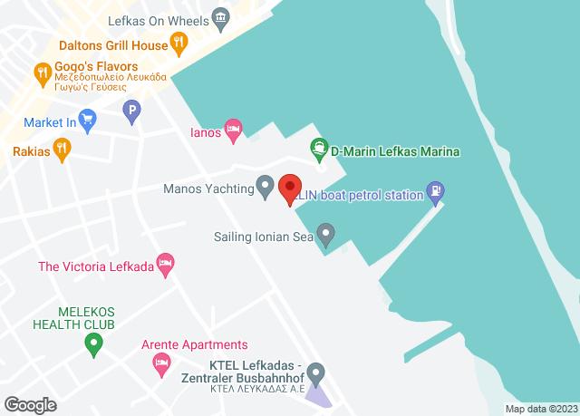 Lefkada City, Griechenland