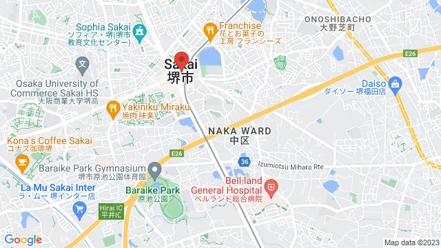 大阪府堺市中区1 Uホール白鷺