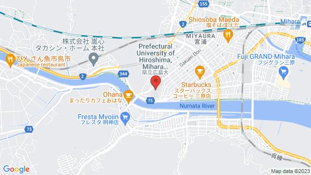 広島県三原市学園町1−1 県立広島大学 三原キャンパス