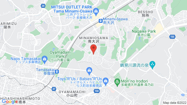 東京都八王子市南大沢1-1 首都大学東京 南大沢キャンパス