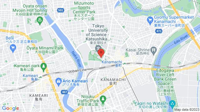 東京都葛飾区新宿6-3-1 東京理科大学 葛西キャンパス