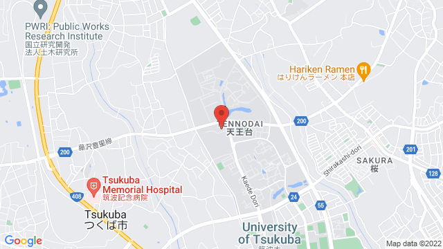 茨城県つくば市天王台1丁目1-1 筑波大学 大学会館