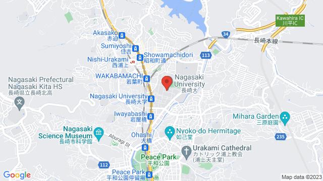 長崎県長崎市文教町1−14 長崎大学