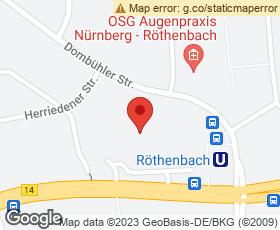 Kartenausschnitt Marktkauf Nürnberg-Röthenbach