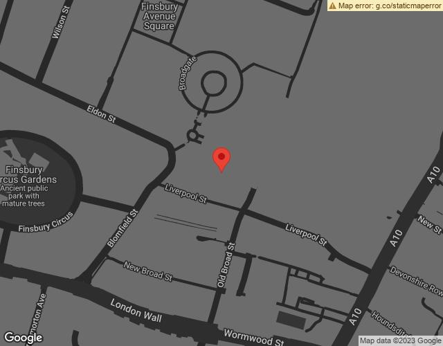 Google Map of https://www.google.com/maps/place/90+Liverpool+St,+London+EC2M+7NX/@51.517657,-0.0856847,17z/data=!3m1!4b1!4m5!3m4!1s0x48761cada722d611:0x16f418c353301d93!8m2!3d51.517657!4d-0.083496