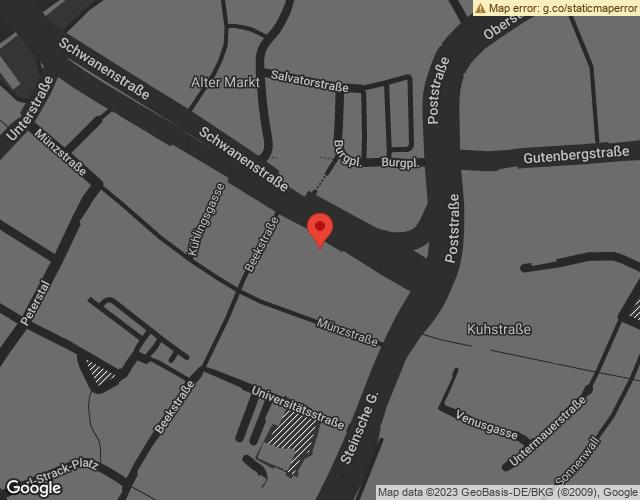 Google Map of https://www.google.com/maps/place/Schwanenstra%C3%9Fe+13,+47051+Duisburg/data=!4m2!3m1!1s0x47b8bf1a9fcedd89:0xbb9455d321138d1c?sa=X&ved=2ahUKEwi6o6LpnvnmAhVELFAKHZVjBYYQ8gEwAHoECAoQAQ