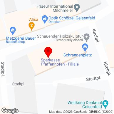 Sparkassen-Geschäftsstelle, Rathausstraße 2, 85290 Geisenfeld