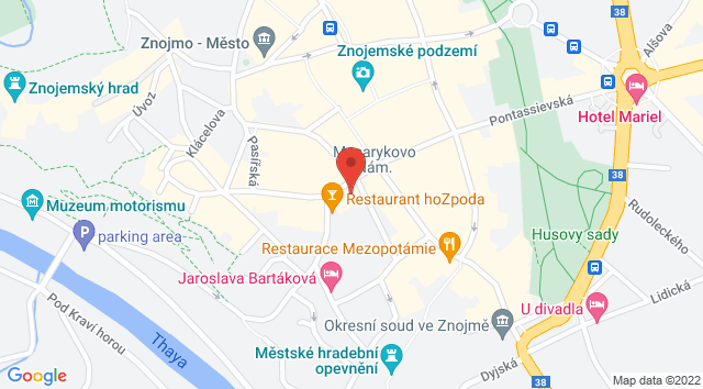 Masarykovo nám. 450/23, 669 02 Znojmo, Česko