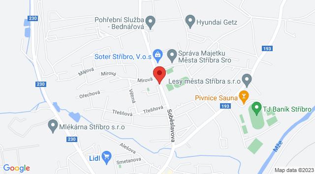Soběslavova, 349 01 Stříbro, Česko