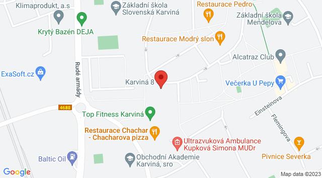 Slovenská 2868, Hranice, 733 01 Karviná, Česko