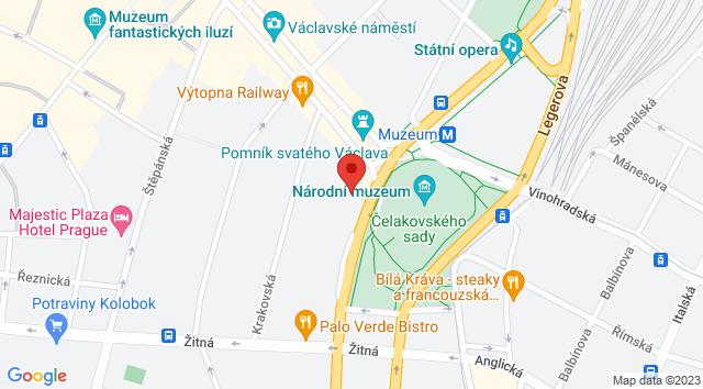 Mezibranská 1367/21, Nové Město, 110 00 Praha-Praha 1, Česko