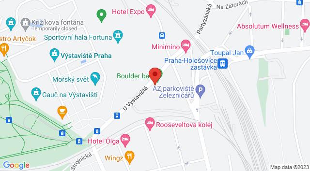 U Výstaviště 764/13, Holešovice, 170 00 Praha-Praha 7, Česká republika