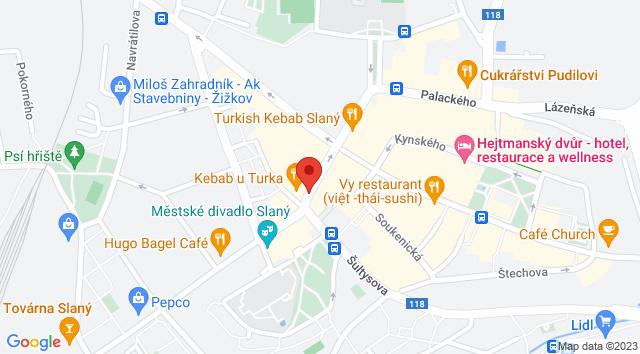 Dr. E. Beneše, 274 01 Slaný, Česko