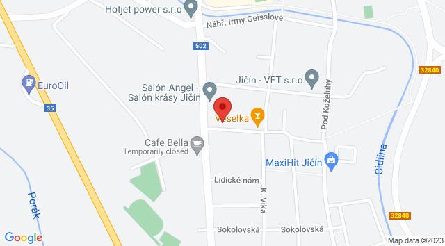 Lidické nám. 576, Nové Město, 506 01 Jičín, Česko