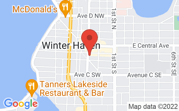 Map showing location of Jessie's Lounge