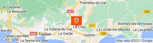Emplacement centre Contrôle Technique de la Crau