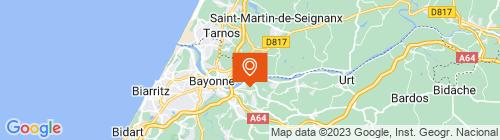Emplacement centre POINT CONTROLE BAYONNE