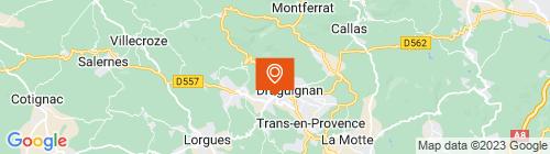Emplacement centre Mon Contrôle Technique Draguignan